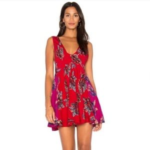 Free people thought I was dreaming floral dress M